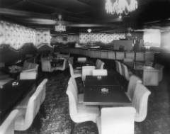Photograph of the interior of the Wolhurst Club Bar