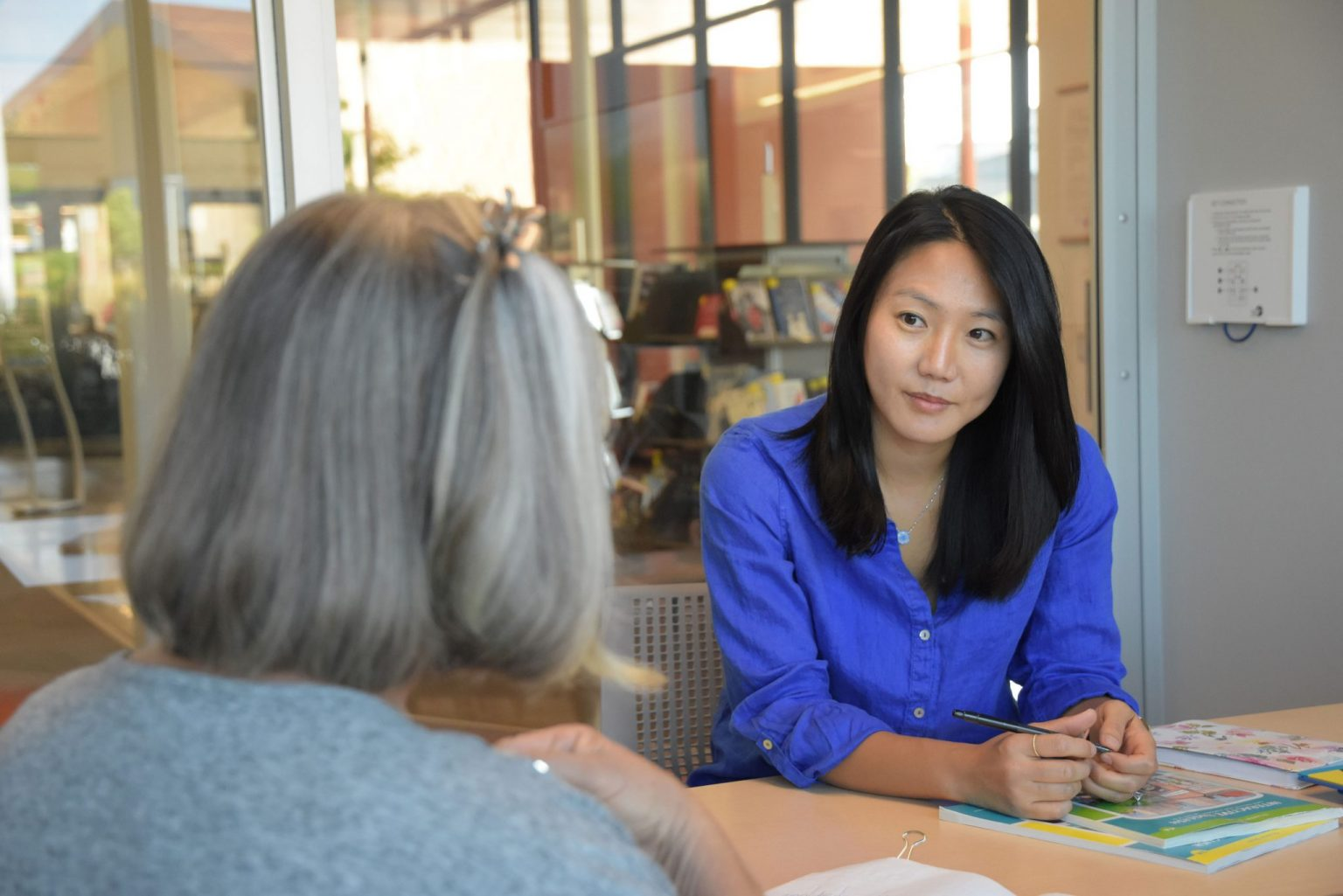 Adult literacy programs like ESL tutoring provide a pathway for adults in our community to develop their English literacy skills and thrive.