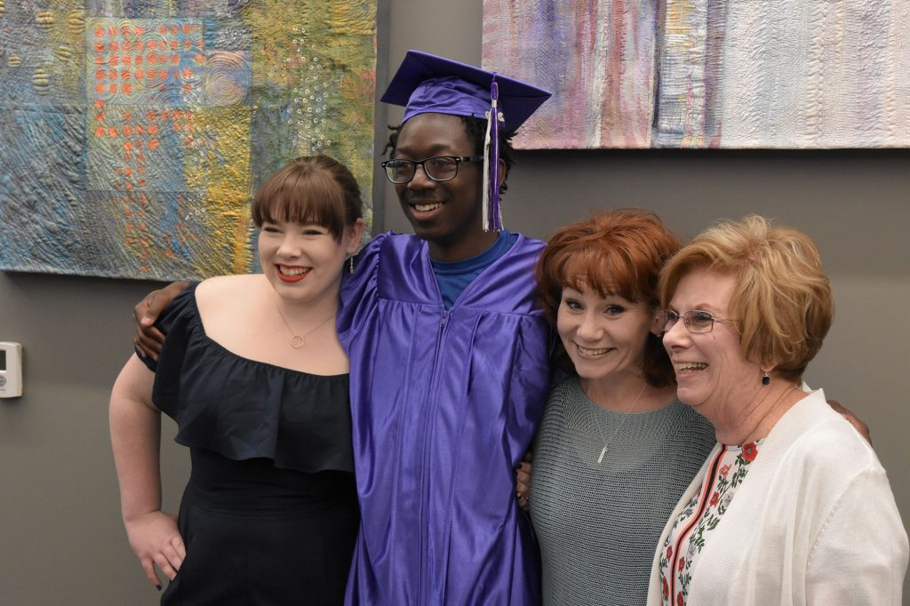 The DCL Foundation provides scholarships for adults completing their high school equivalency testing, enabling them to achieve their high school graduation goals.