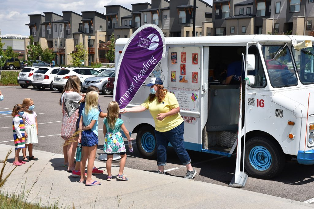 More than 2,000 ice cream treats were handed out and enjoyed at DCL locations throughout the county.