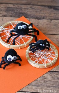 Silly-Spider-Craft-for-Kids