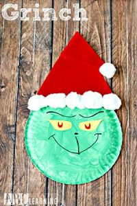grinch-paper-plate-crafts-santa-hat1216
